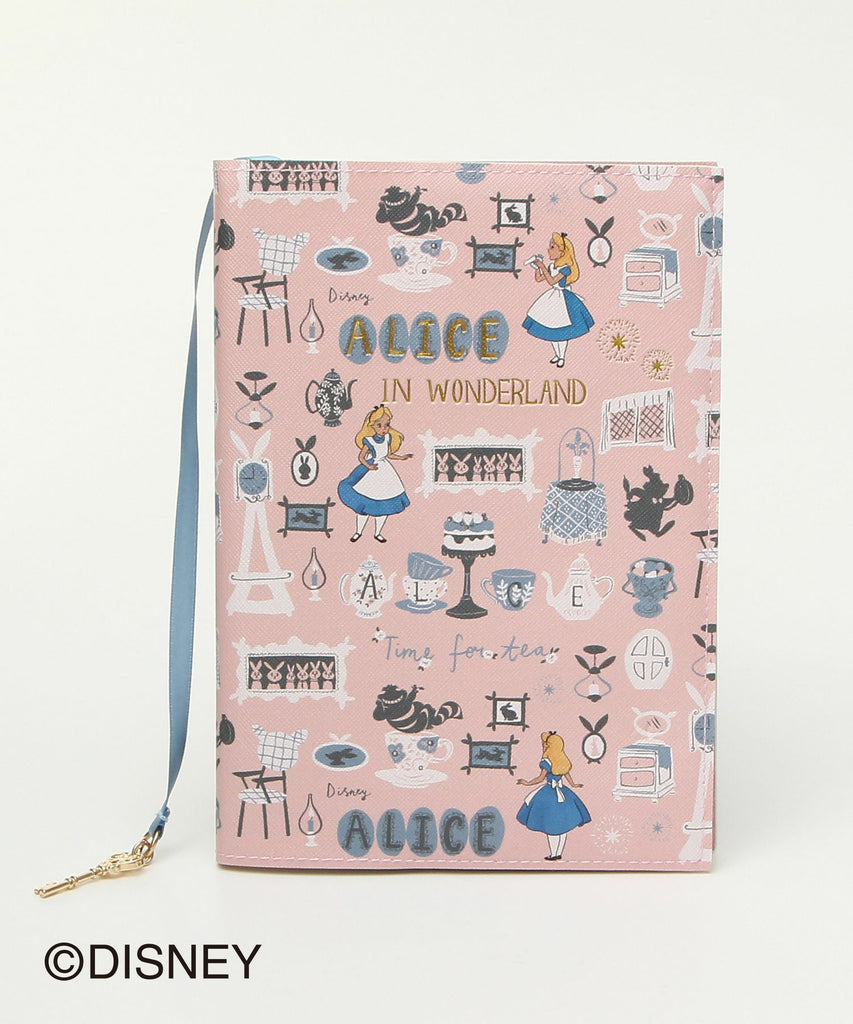 Alice in Wonderland 2019 Schedule Book B6 Weekly Vertical Pink Disney Japan