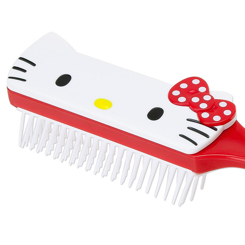 Hello Kitty Face Hair Brush SANRIO Japan