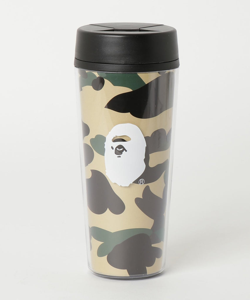 1ST CAMO TUMBLER M Yellow A BATHING APE Japan