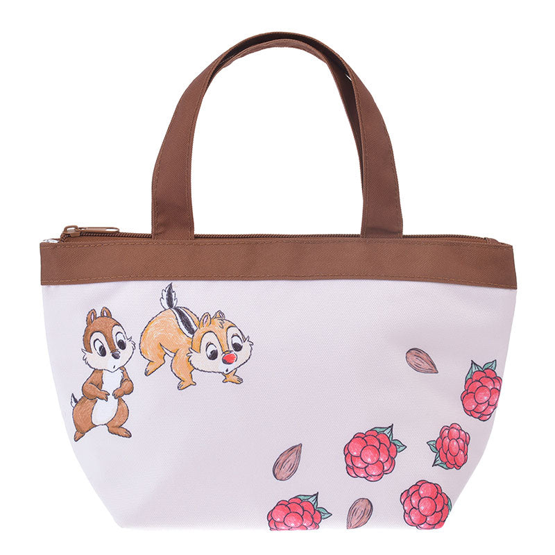 Chip & Dale Lunch Tote Bag Plants Disney Store Japan