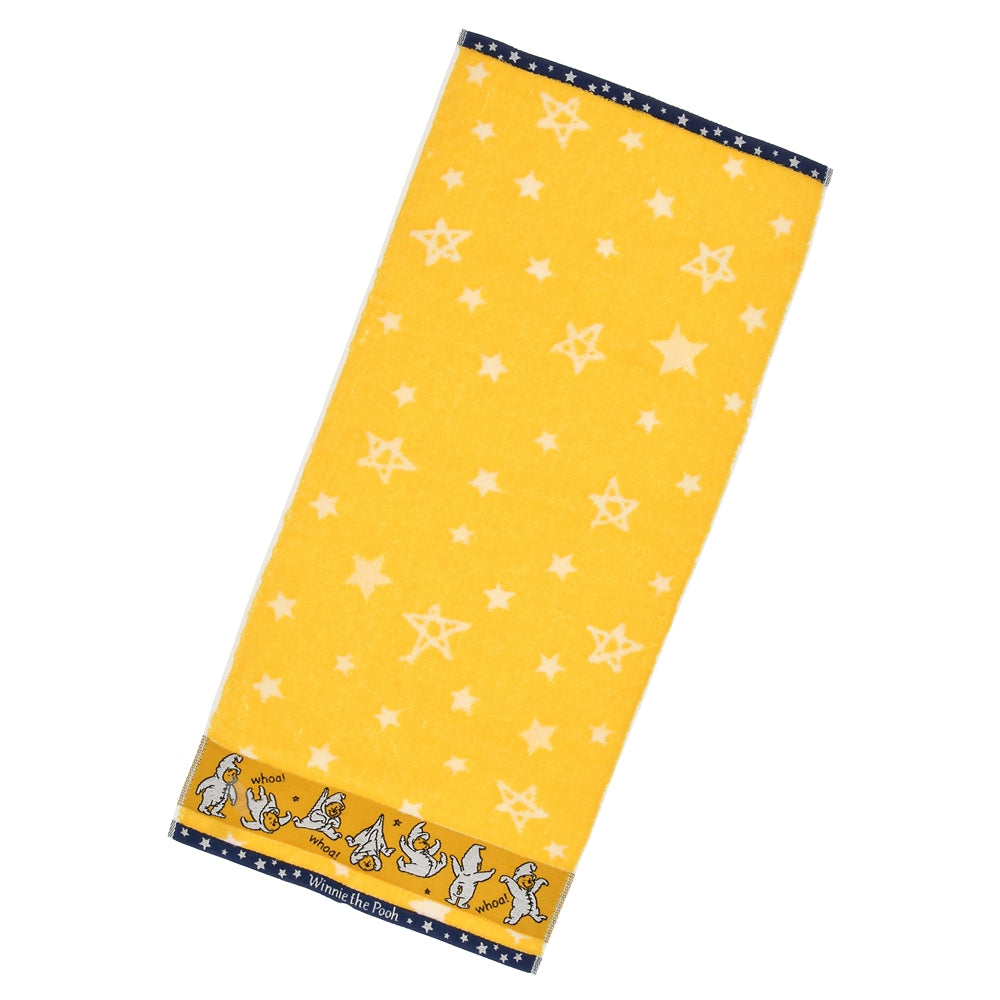Winnie the Pooh Face Towel The Wishing Bear Disney Store Japan