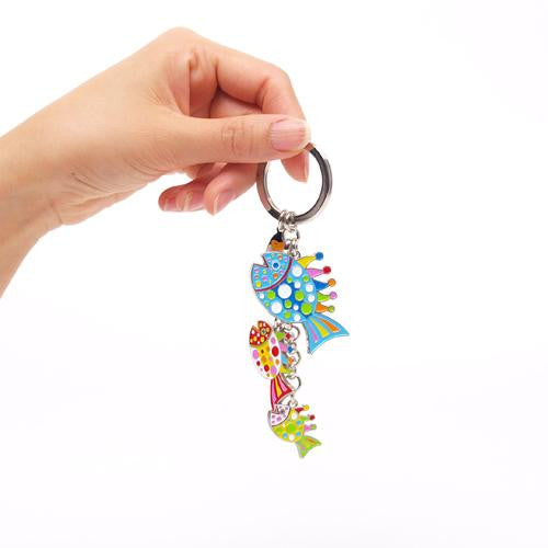 Yayoi Kusama Key Ring Fish Pumpkin Japan Artist