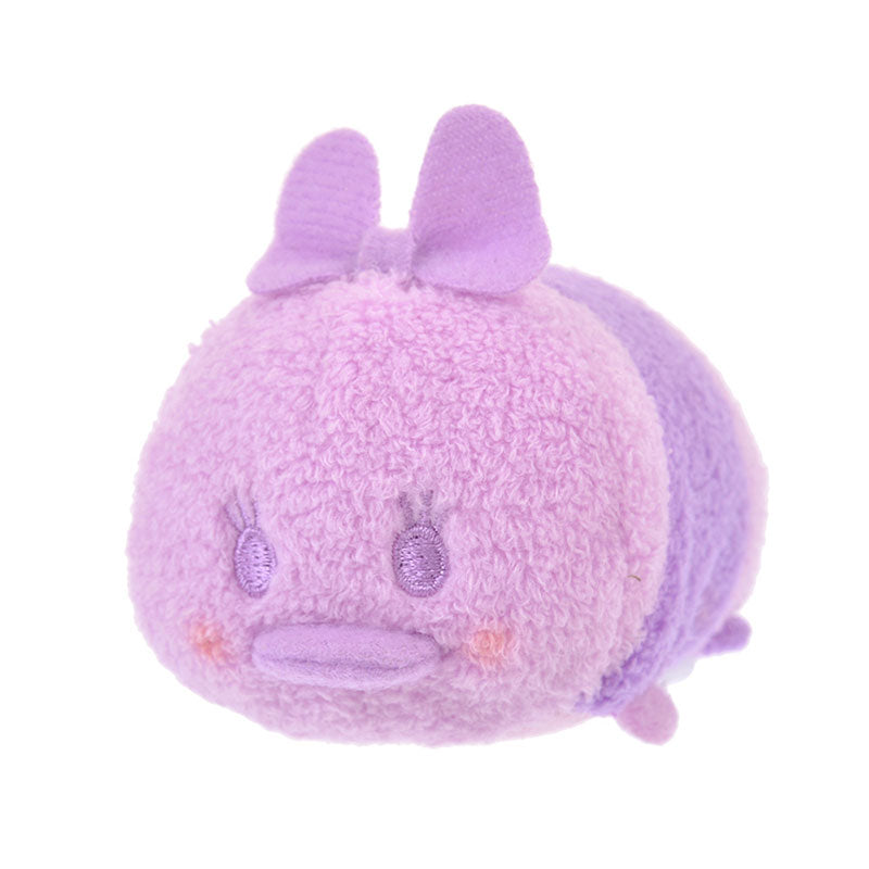 Daisy Tsum Tsum Plush Doll mini S Pastel Color Purple Disney Store Japan