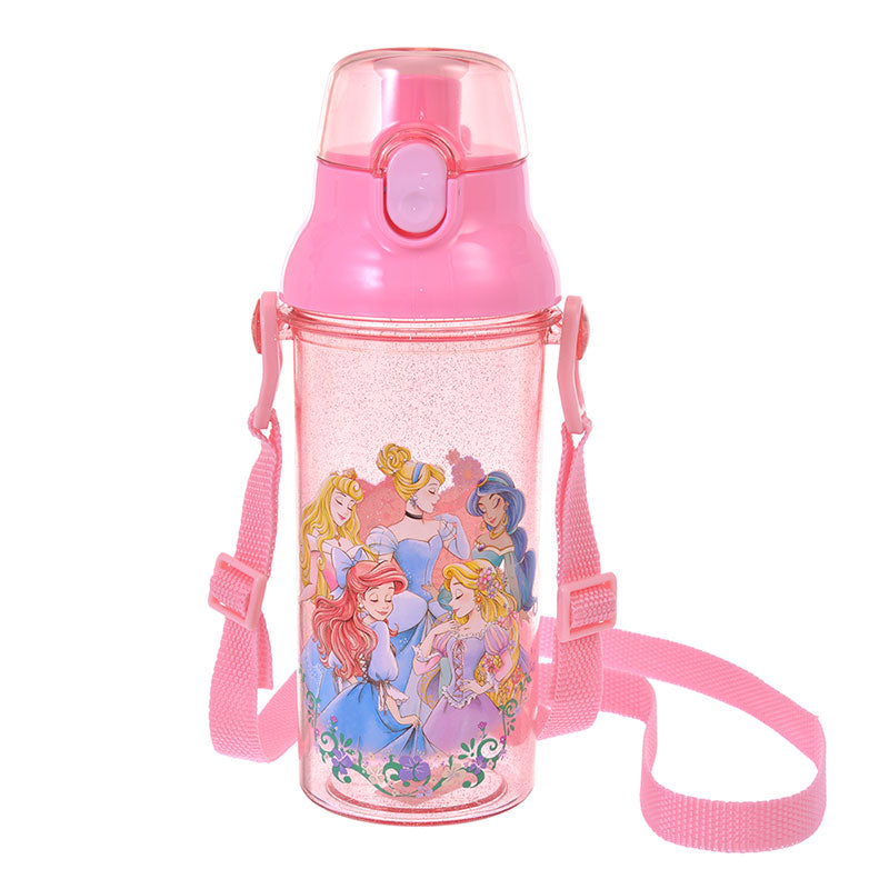 Disney Princess Direct Drinking One Touch Bottle Feminine Disney Store Japan