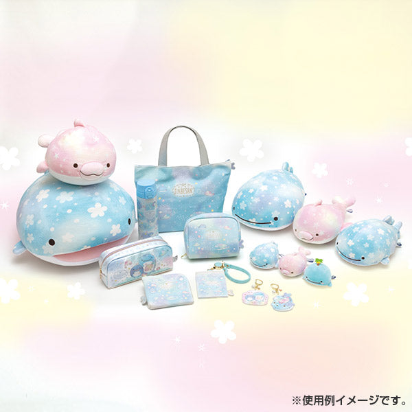 Jinbe San Super Soft mini Tenori Plush Doll with Pearl Color Dolphin San-X Japan