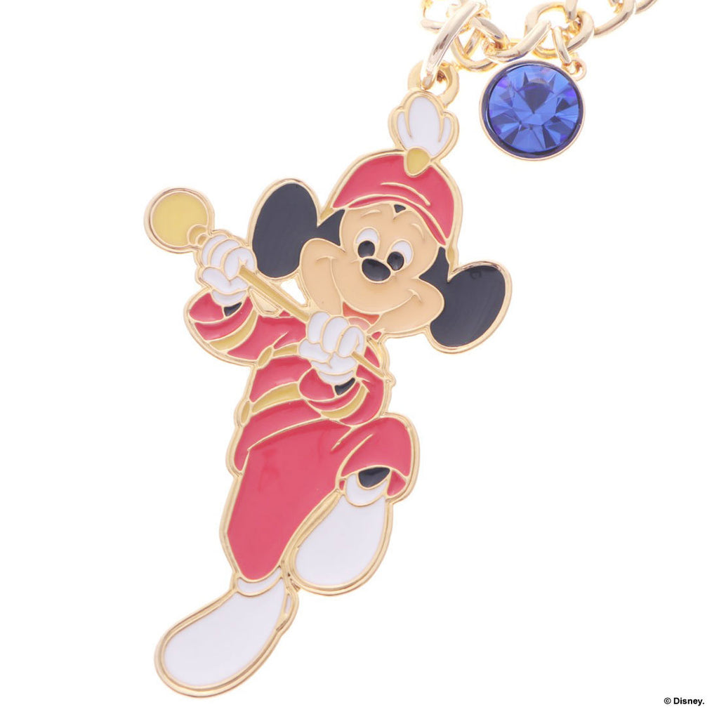 Mickey Bag Charm Gold Mickey Mouse Club Samantha Thavasa Disney Japan