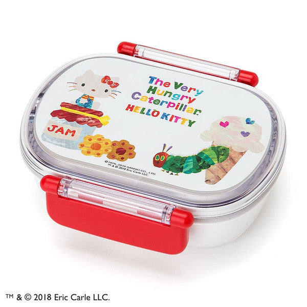 Hello Kitty The Very Hungry Caterpillar Lunch Box Bento DXS Sweet Sanrio Japan