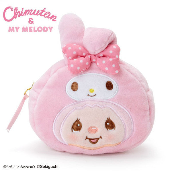 Chimutan My Melody Pouch Face Sanrio Japan
