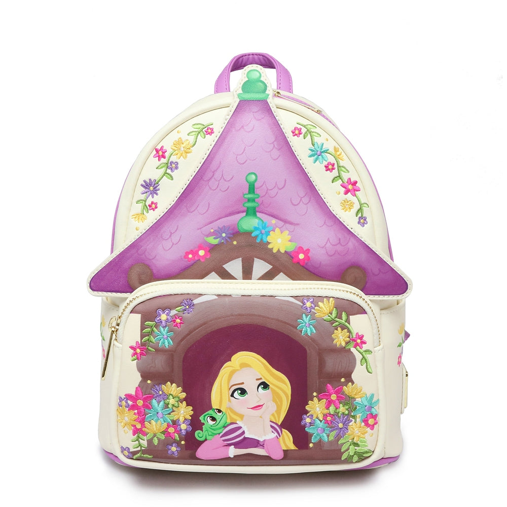 Tangled Rapunzel mini Backpack Loungefly Disney Store Japan