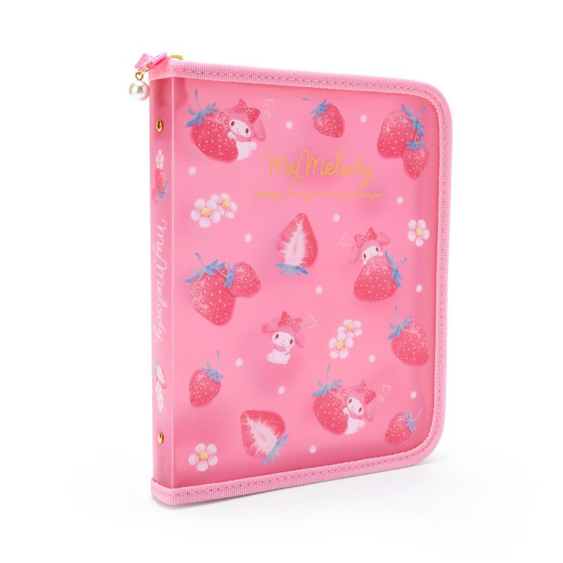 My Melody Zipper File Holder A5 Happiness Girl Sanrio Japan 2021