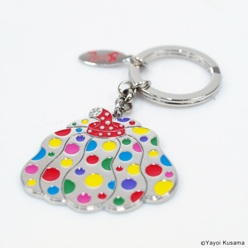 Keychain Key Ring Pumpkin Multicolor Yayoi Kusama Japan