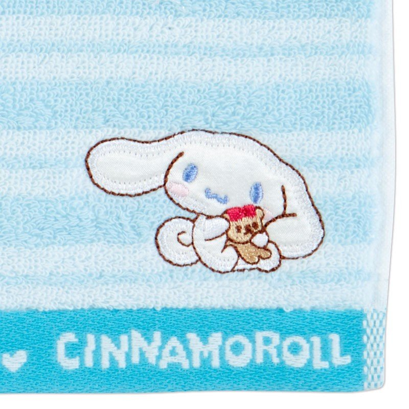 Cinnamoroll mini Towel Stripe Blue Sanrio Japan 2019