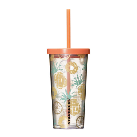 Cold Cup Straw Tumbler Pine 355ml Summer 2018 Starbucks Japan