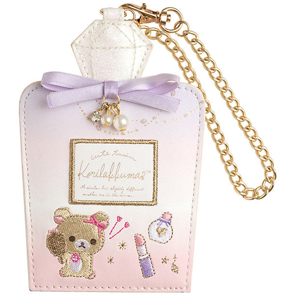 Korilakkuma in the Mirror Pass Case San-X Japan Rilakkuma