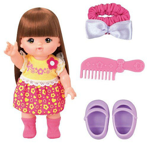 Mell Chan's Friend Rena chan Pretend Play Doll Set Pilot Japan