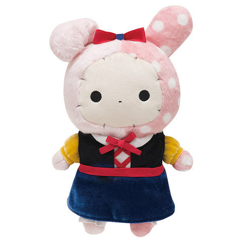 Sentimental Circus Shappo Plush Doll Patching Apple Snow White San-X Japan
