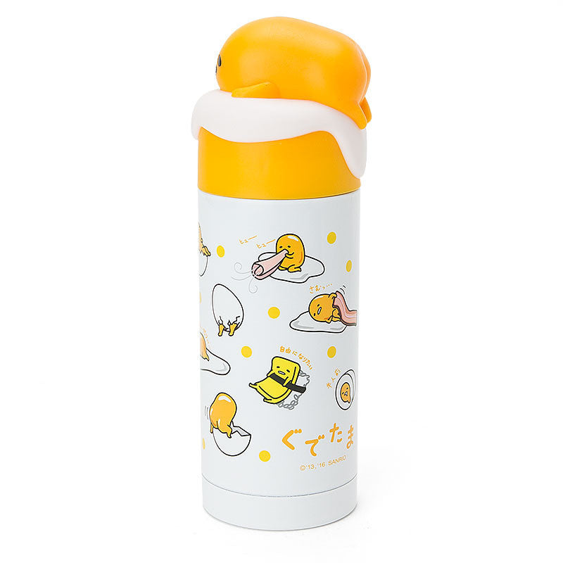 Gudetama Egg Stainless Bottle Tumbler 380ml Sanrio Japan