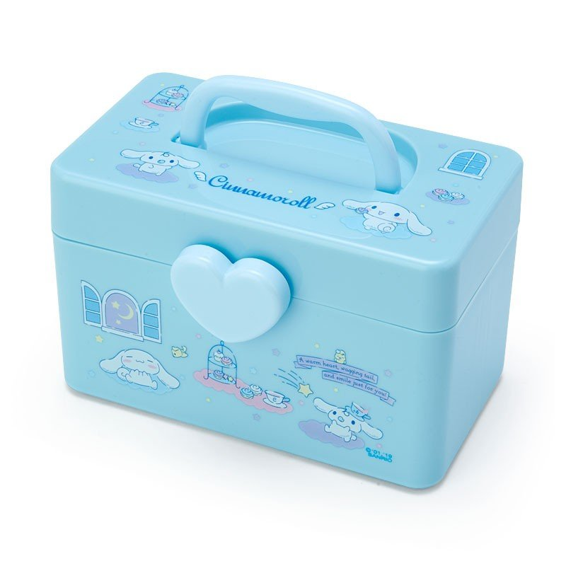 Cinnamoroll Storage Box S with Handle Sanrio Japan