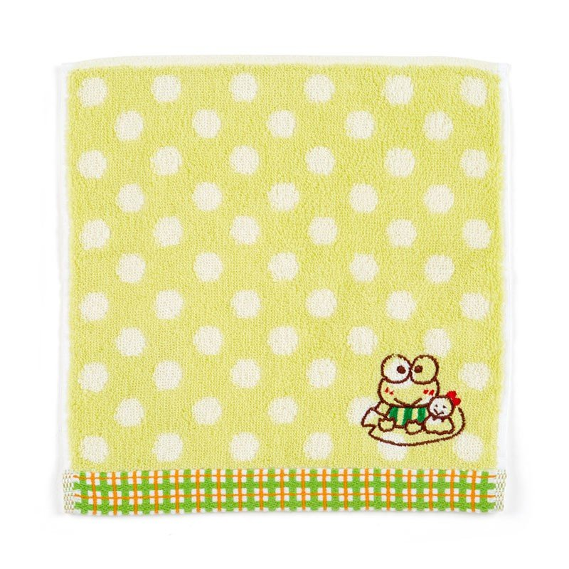 Kero Kero Keroppi Frog mini Towel Dot Sanrio Japan