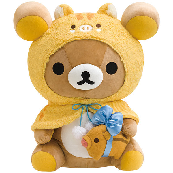 Rilakkuma Plush Doll Boar Pig San-X Japan New Year 2019 Store Limit