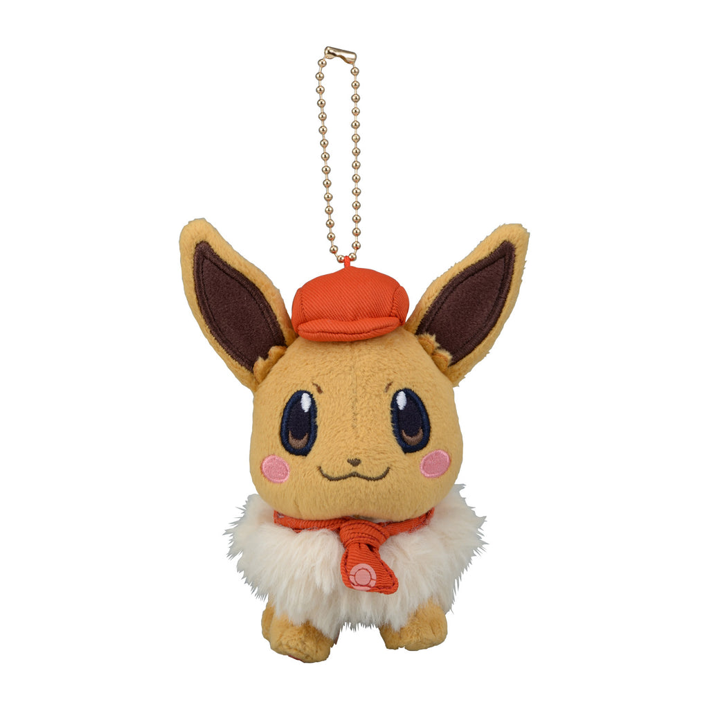 Eevee Eievui Plush Keychain Pokemon Cafe Mix Center Japan