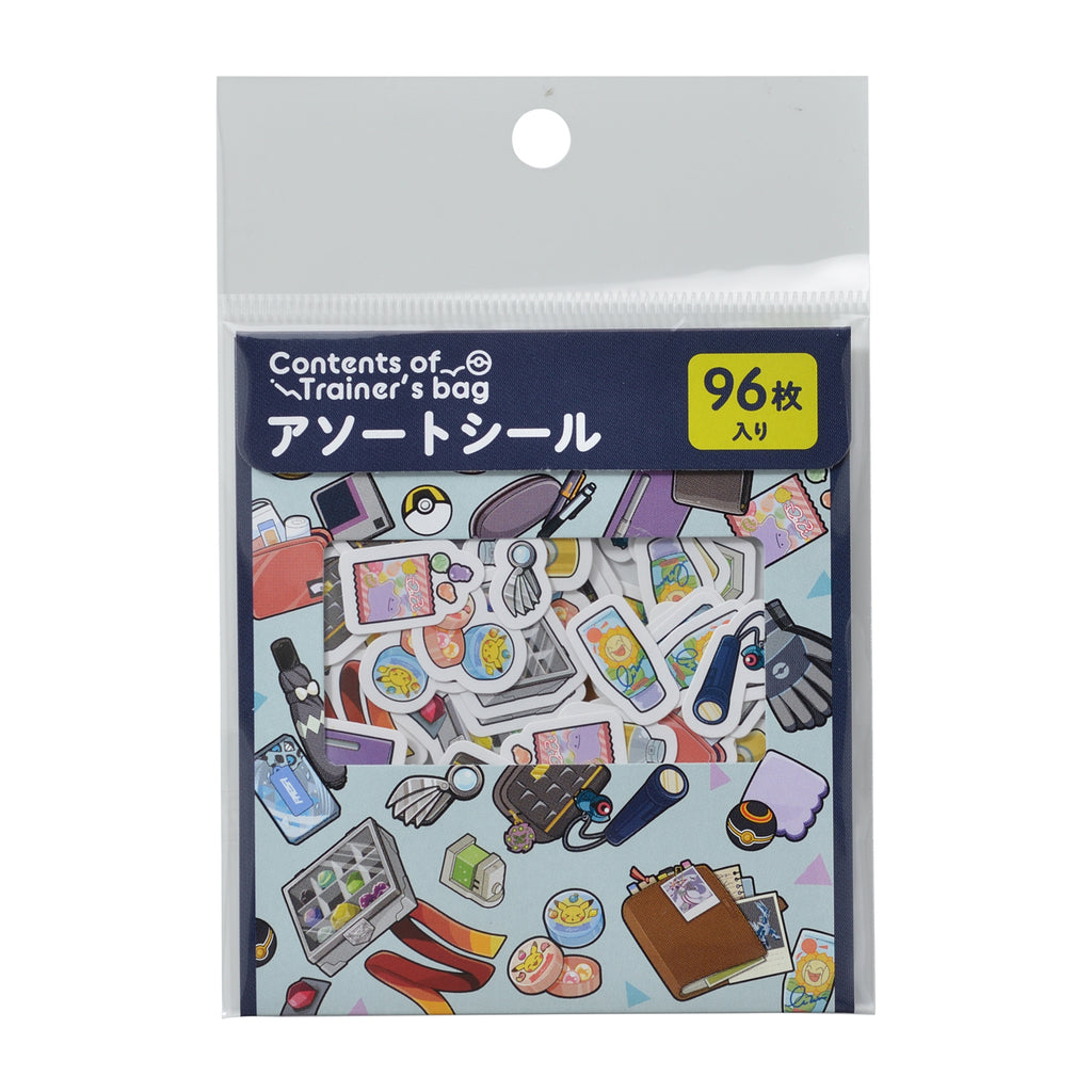 Assort Sticker Contents of Trainer's bag NV Pokemon Center Japan Original