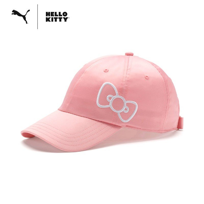 Hello Kitty PUMA Cap Pink Sanrio Japan