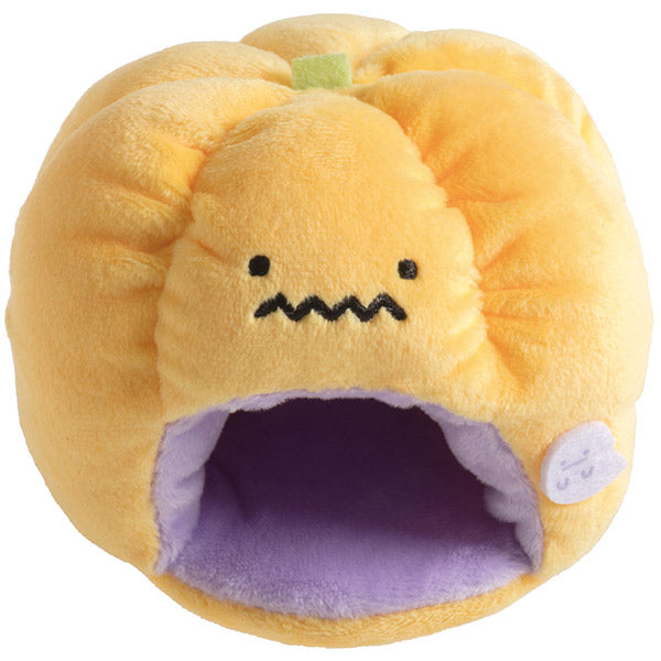 Sumikko Gurashi Pumpkin House mini Tenori Plush Doll Halloween 2019 San-X Japan