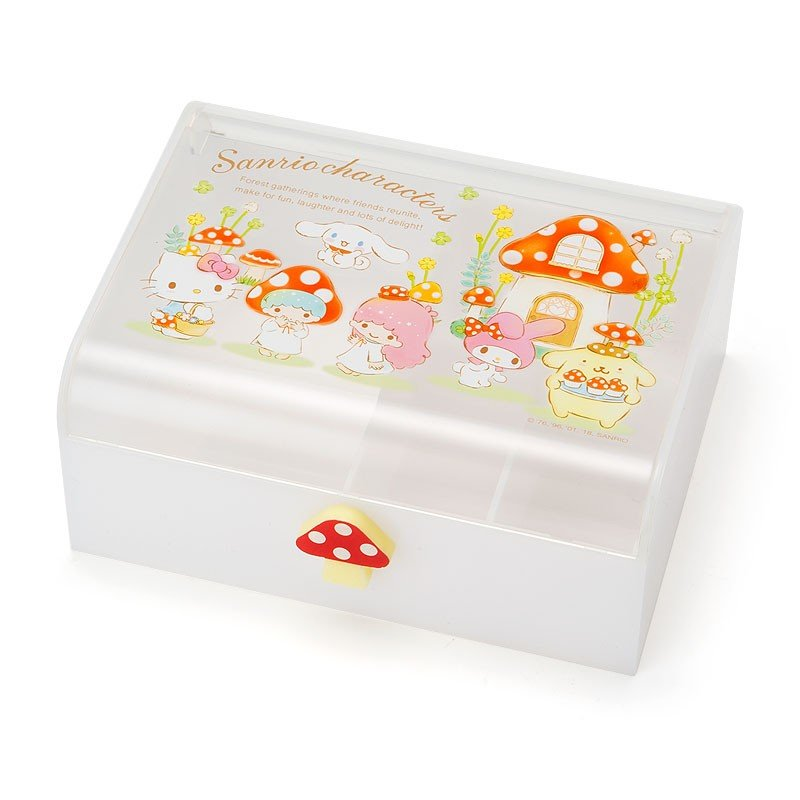 Accessory Case Character Mushroom Sanrio Japan