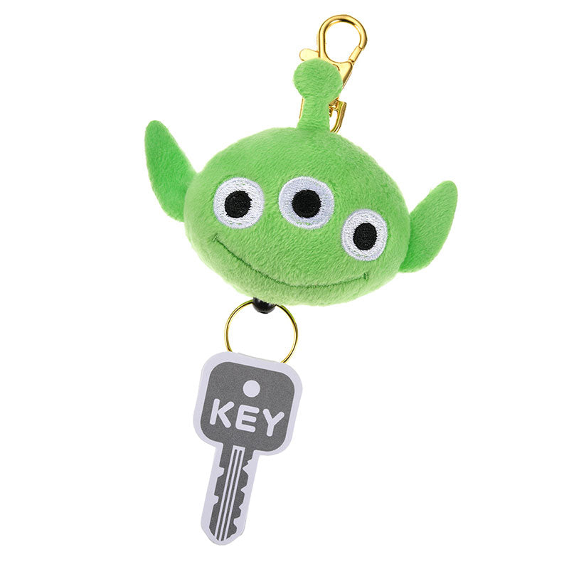 Alien Plush Keychain Reel Disney Store Japan Toy Story