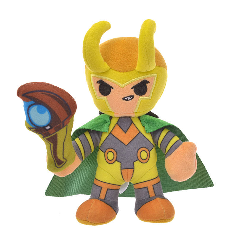 Marvel Loki Plush Doll Deformed Disney Store Japan