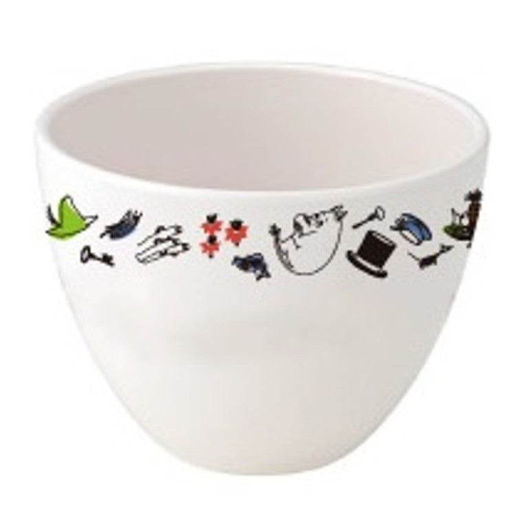 Moomin Melamine Bowl Flyer Moominualley's Picnic MOOMIN Japan