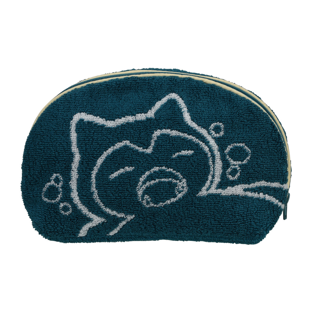 Snorlax Yawn Kabigon Pouch Pokemon Center Japan Original