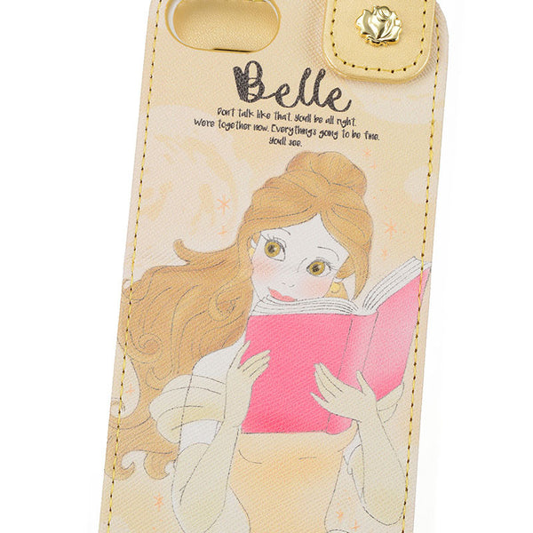 Belle iPhone 6 6s 7 8 Case Cover Mirror charming Disney Store Japan Beauty Beast