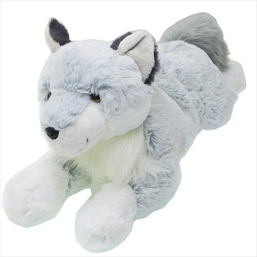 Hizaokami Knee Wolf Plush Doll M Sunlemon Japan