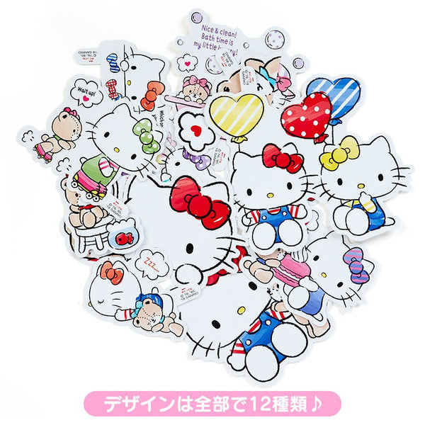 Hello Kitty Decoration Sticker A5 File Folder Set Sanrio Japan