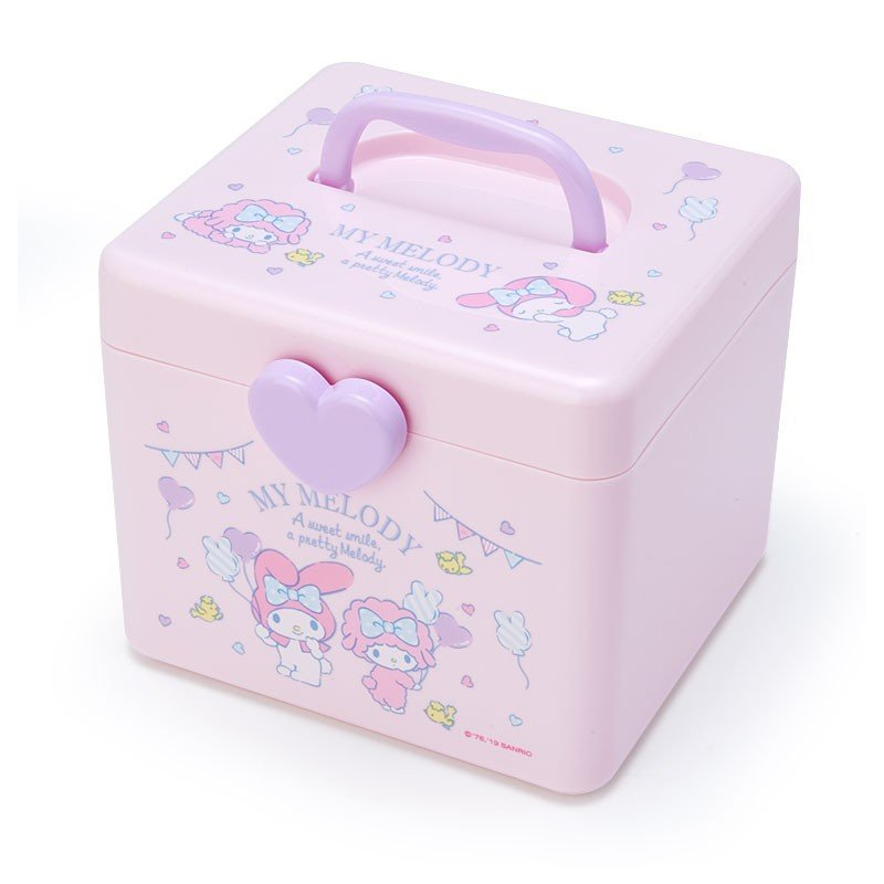My Melody Storage Box M with Handle Sanrio Japan