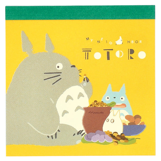 My Neighbor Totoro Memo Note Pad Mountain Studio Ghibli Japan