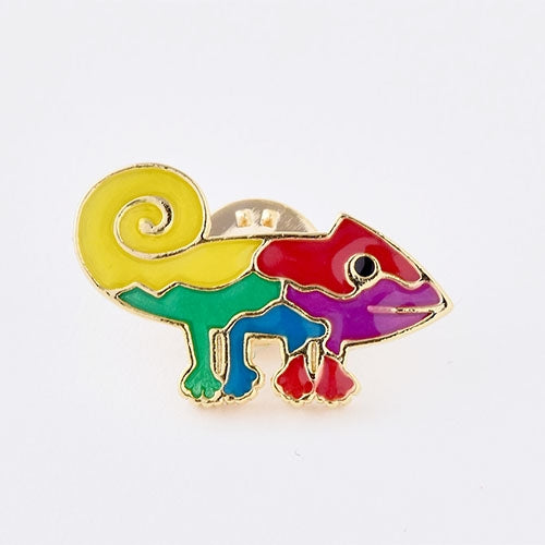A Color of His Own Chameleon Tack Pin Badge Leo Lionni Japan