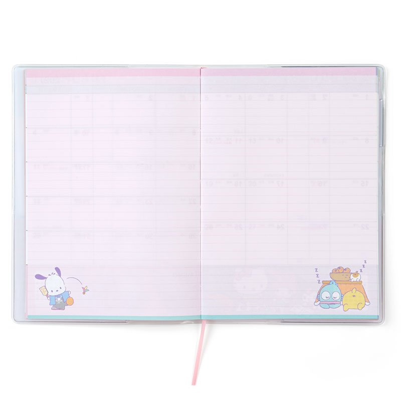 Sanrio Character 2021 Schedule Book B6 Monthly Japan