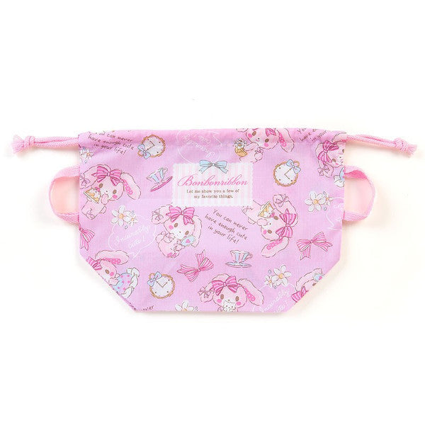 Bonbonribbon Lunch Box Drawstring Bag Pouch Cake Sanrio Japan
