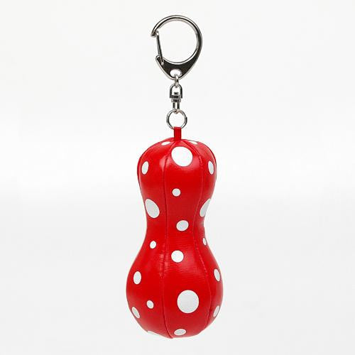 Balloon Mascot Plush Key Chain Yayoi Kusama Red Dot Japan Artist