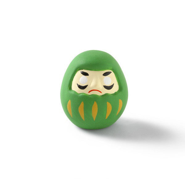 Daruma with Mikuji Green Study Japan Nakagawa Masashichi