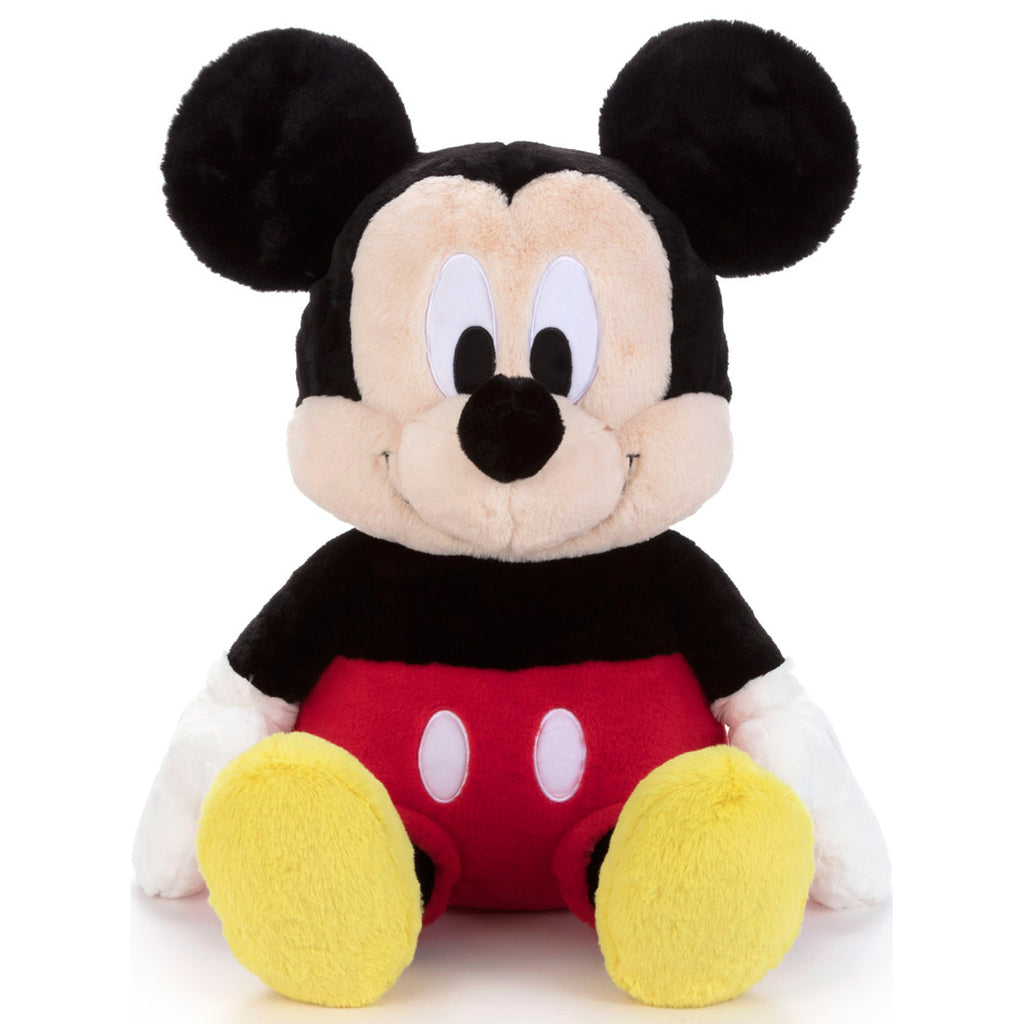 Mickey Fluffy Fuwanade Plush Doll L Disney Takara Tomy Japan