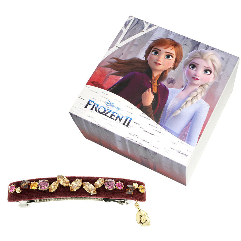 Frozen 2 Anna Barrette Complex Biz Disney Store Japan Hair Accessory
