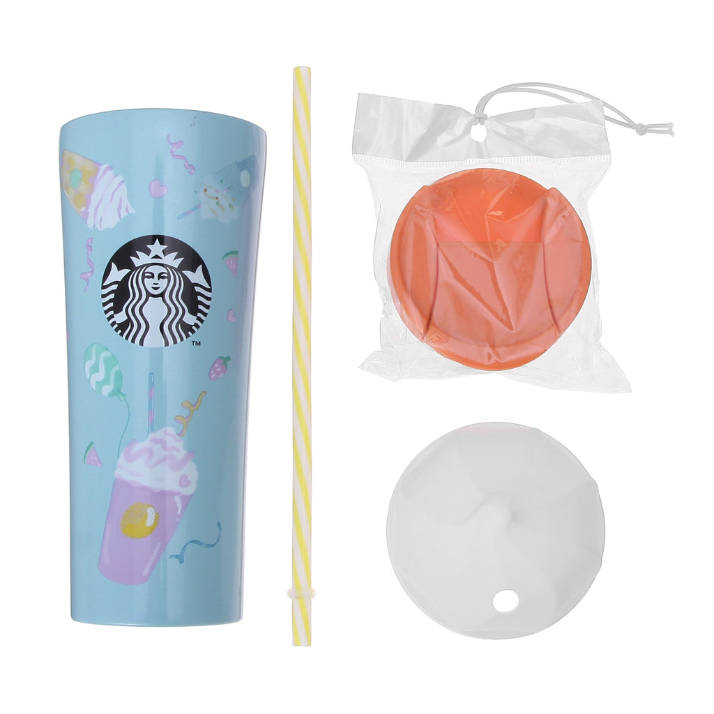 Whip Cap Straw Stainless Tumbler Frappuccino 355ml Starbucks Japan