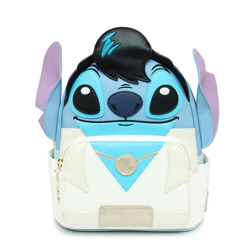 Lilo & Stitch mini Backpack Elvis Presley Loungefly Disney Store Japan