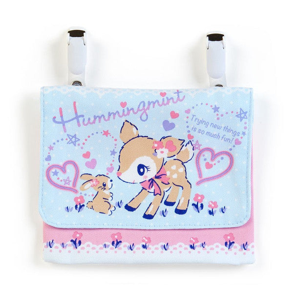 Hummingmint Pocket Pouch Strawberry Sanrio Japan