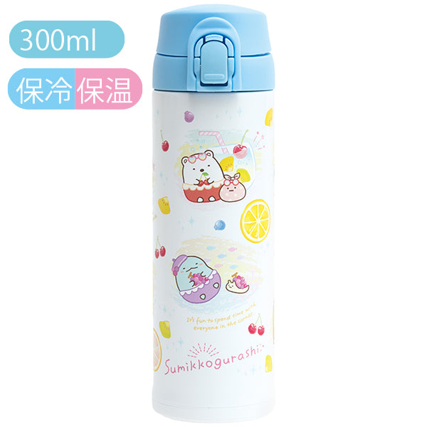 Sumikko Gurashi Stainless Bottle Penpen Fruits Vacation San-X Japan
