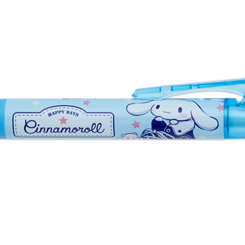 Cinnamoroll Mechanical Pencil Opt. with Lift Clip Sanrio Japan 0.5mm